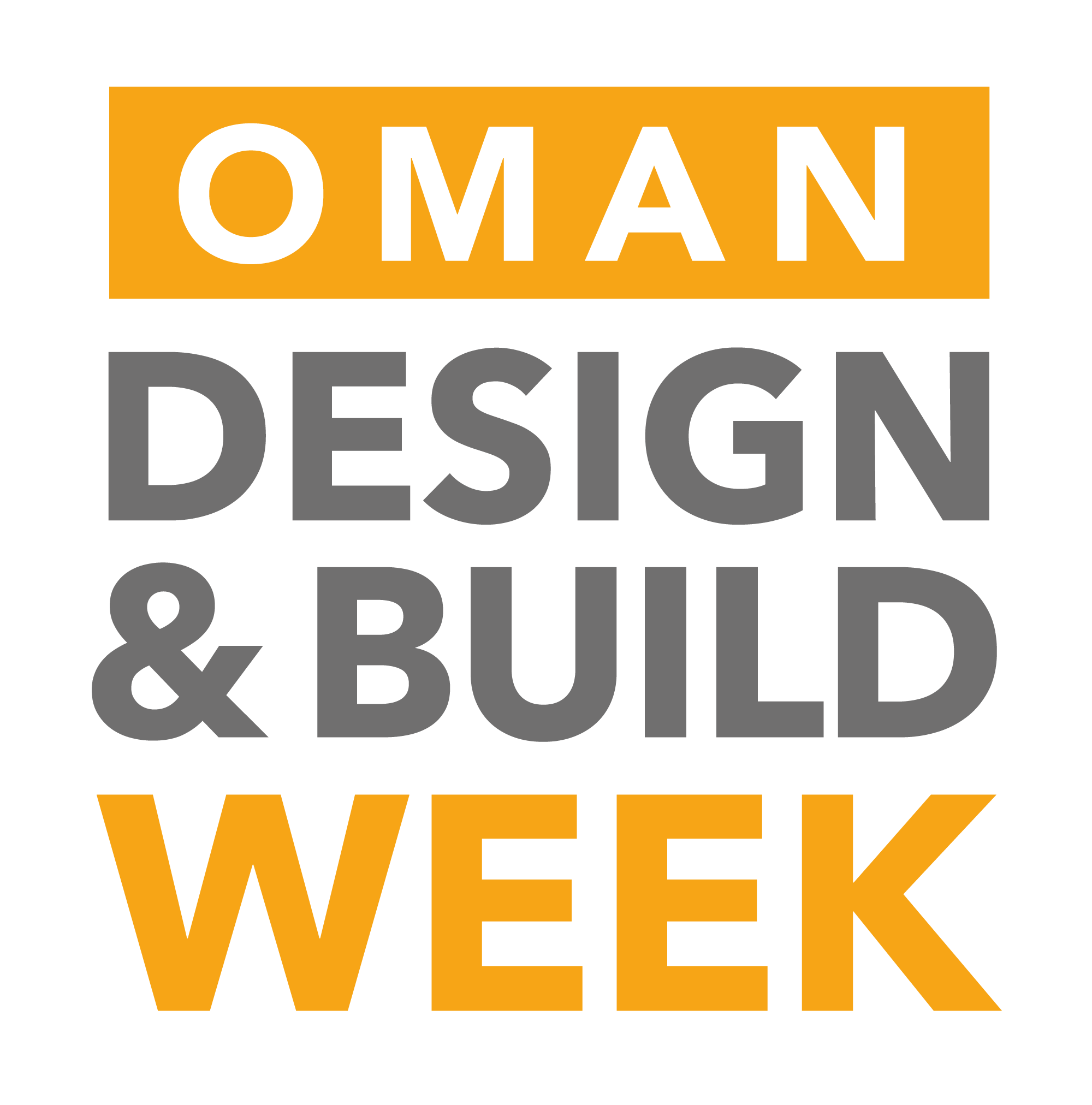 OMAN DESIGN & BUILD WEEK - 30 MARCH – 1 APRIL 2020