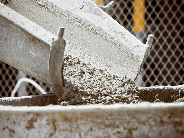 Concrete recycling creates bendy new construction material