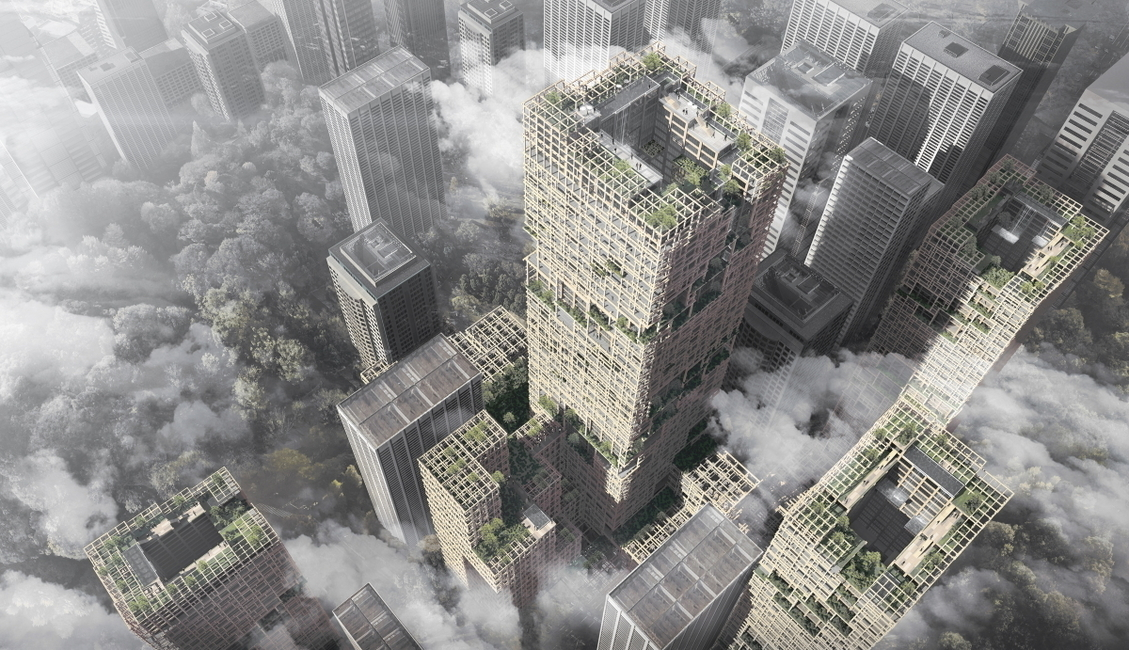 Wooden skyscrapers can aid in creating environmentally friendly cities